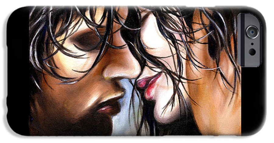 Lovers IPhone 6 Case featuring the painting June Breeze by Hiroko Sakai