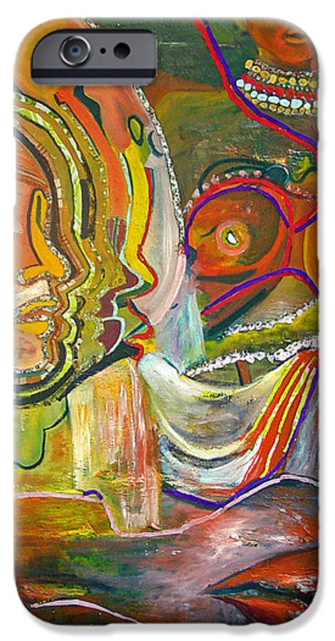 Impressionism IPhone 6 Case featuring the painting Koulikoro Woman by Peggy Blood