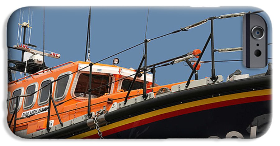 Life IPhone 6 Case featuring the photograph Life Boat by Christopher Rowlands