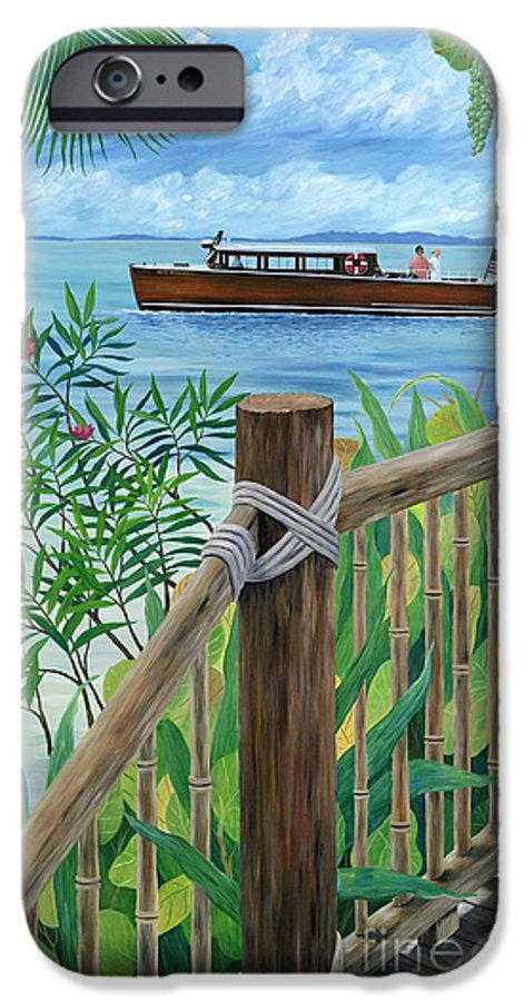 Island IPhone 6 Case featuring the painting Little Palm Island by Danielle Perry