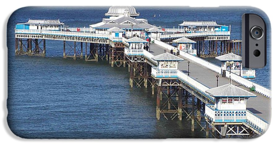 Piers IPhone 6 Case featuring the photograph Llandudno Pier by Christopher Rowlands