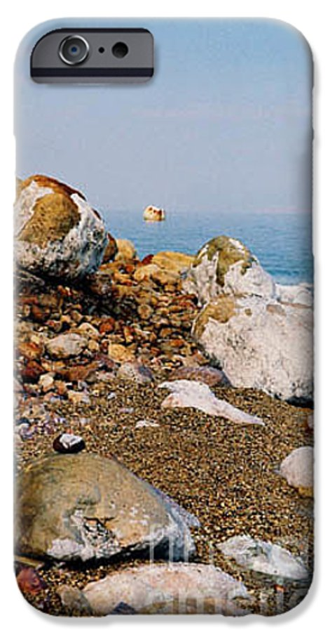 Dead Sea IPhone 6 Case featuring the photograph Lot's Wife by Kathy McClure
