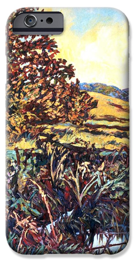 Landscape IPhone 6 Case featuring the painting Near Childress by Kendall Kessler