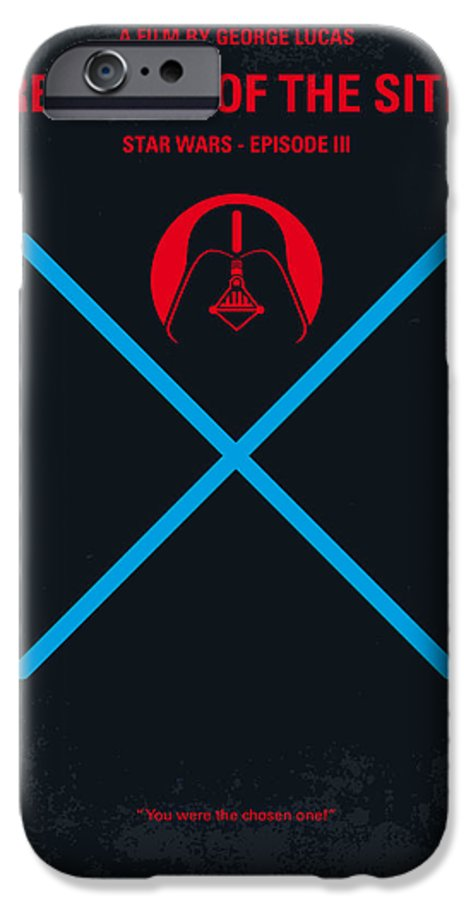 No225 My Star Wars Episode Iii Revenge Of The Sith Minimal Movie Poster Iphone 6 Case For Sale By Chungkong Art