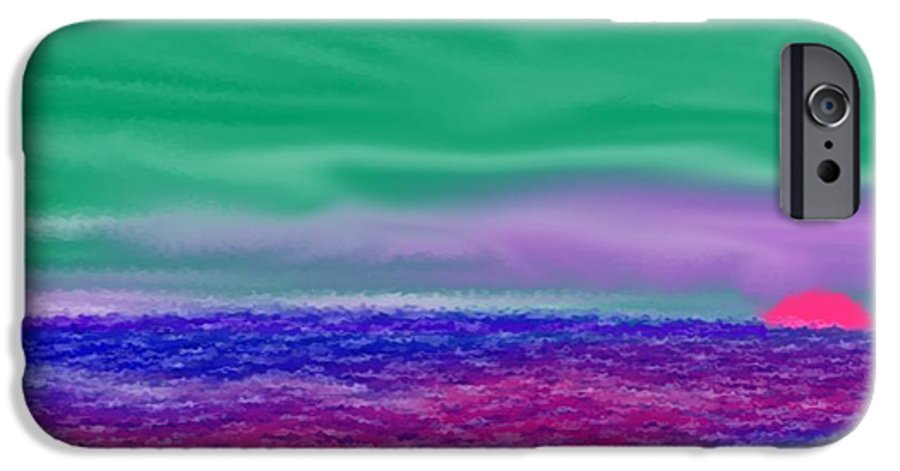 Morning IPhone 6 Case featuring the digital art One Simple Morning by Dr Loifer Vladimir