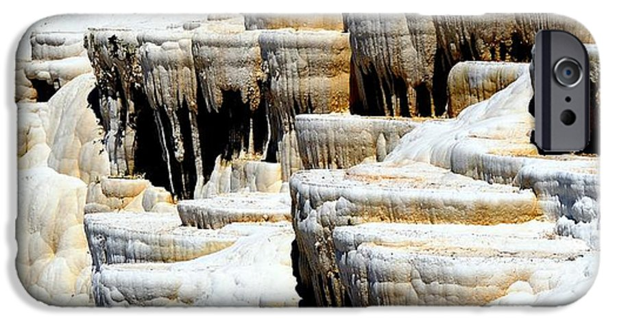 Pamukkale IPhone 6 Case featuring the photograph Pamukkale Terraces by Apurva Madia