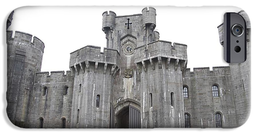 Castles IPhone 6 Case featuring the photograph Penrhyn Castle 3 by Christopher Rowlands