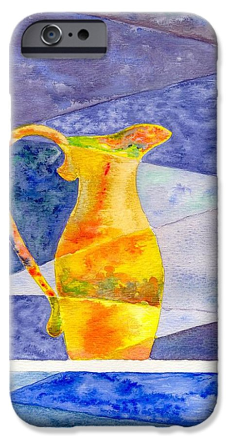 Still Life IPhone 6 Case featuring the painting Pitcher 1 by Micah Guenther