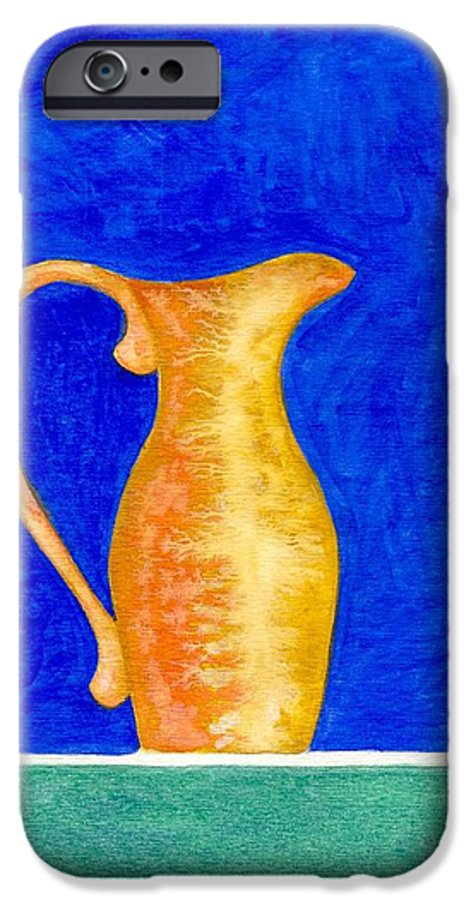Still Life IPhone 6 Case featuring the painting Pitcher 2 by Micah Guenther