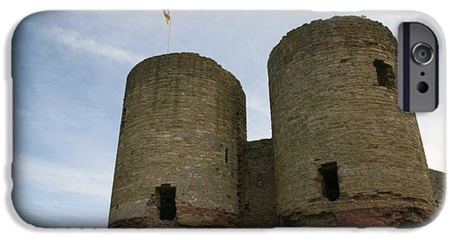 Castles IPhone 6 Case featuring the photograph Ruddlan Castle by Christopher Rowlands
