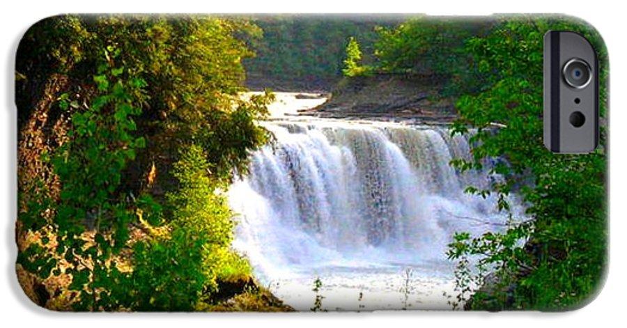 Falls IPhone 6 Case featuring the photograph Scenic Falls by Rhonda Barrett