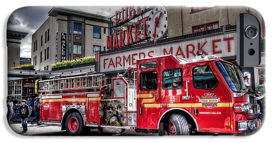 Seattle Fire Engine IPhone 6 Case