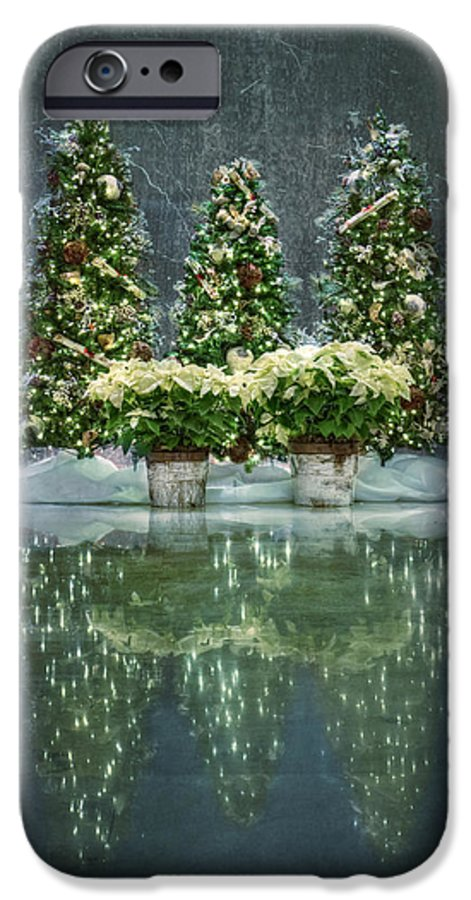 Christmas IPhone 6 Case featuring the photograph Silent Night by Evelina Kremsdorf