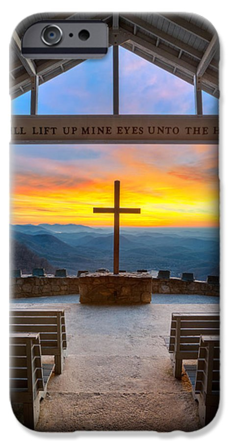 Pretty Place Chapel IPhone 6 Case featuring the photograph South Carolina Pretty Place Chapel Sunrise Embraced by Dave Allen