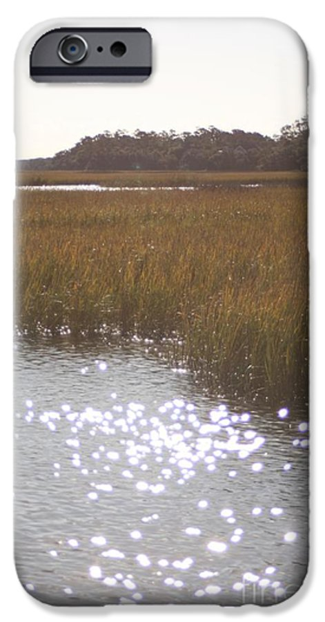 Marsh IPhone 6 Case featuring the photograph Sparkling Marsh by Nadine Rippelmeyer