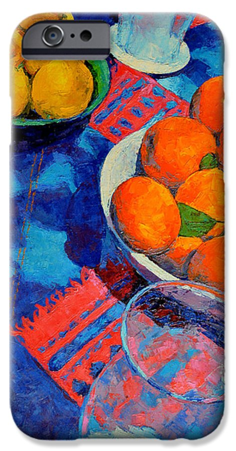 Still Life IPhone 6 Case featuring the painting Still Life 2 by Iliyan Bozhanov