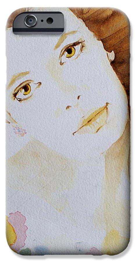 Watercolour IPhone 6 Case featuring the painting Still Waters' Reflection by Janice Gell