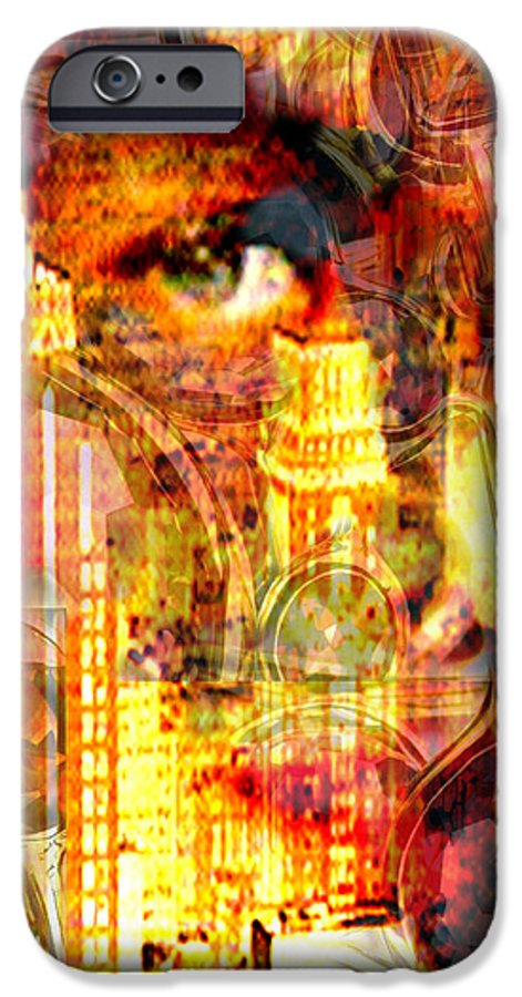 Big City IPhone 6 Case featuring the photograph Streetwalker by Seth Weaver