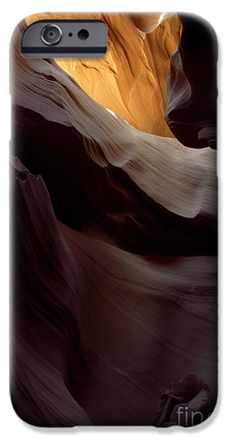 Slot Canyons IPhone 6 Case featuring the photograph Swopes by Kathy McClure