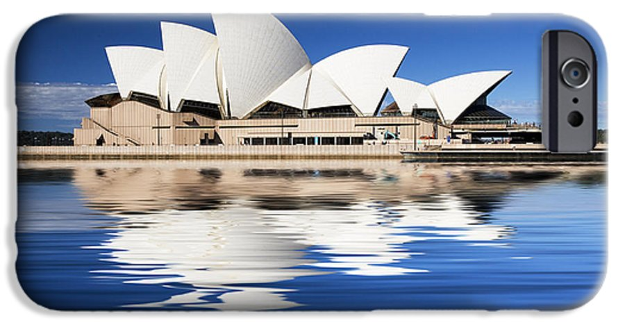 Sydney Opera House IPhone 6 Case featuring the photograph Sydney Icon by Avalon Fine Art Photography