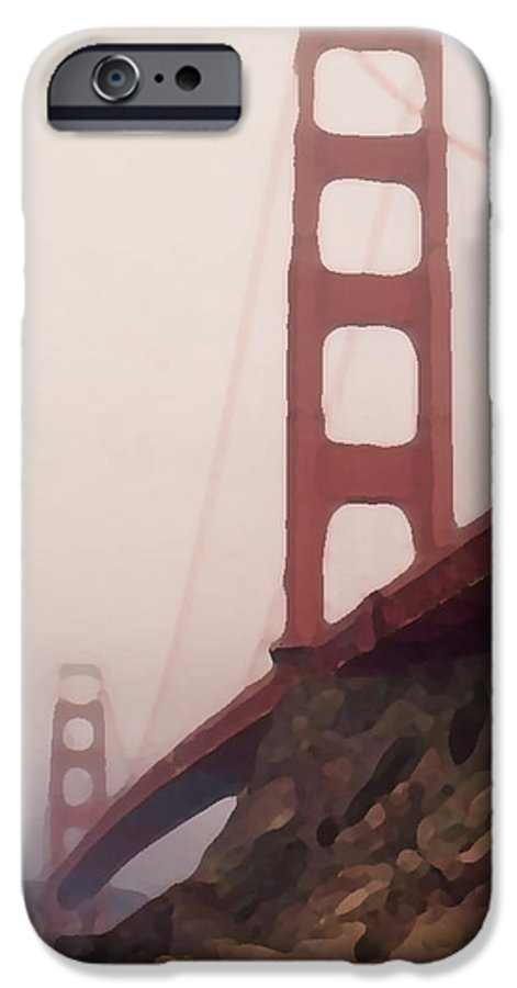 Art IPhone 6 Case featuring the photograph The Bridge by Piero Lucia