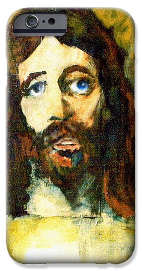 Jesus Christ IPhone 6 Case featuring the painting The Galilean by Seth Weaver