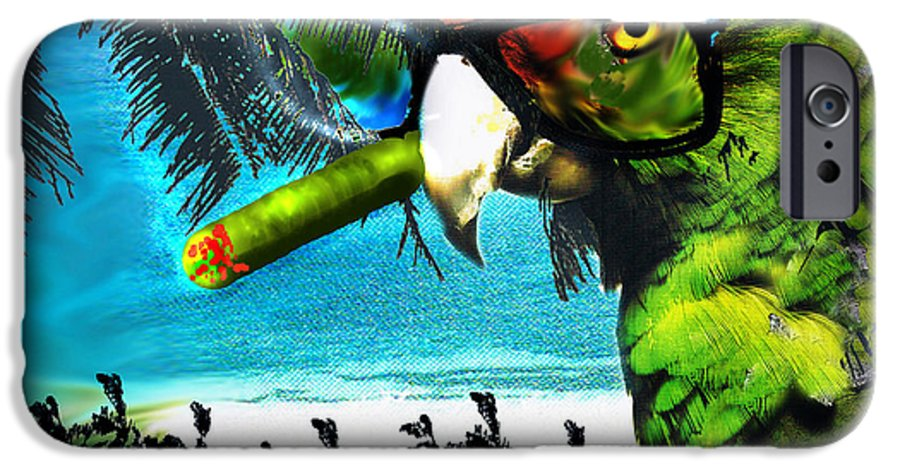 The Great Bird Of Casablanca IPhone 6 Case featuring the digital art The Great Bird Of Casablanca by Seth Weaver