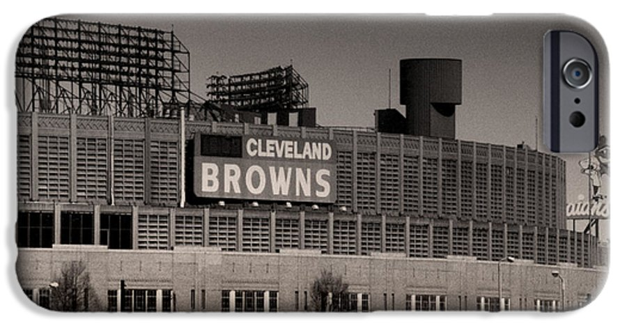 Cleveland IPhone 6 Case featuring the photograph The Hometeams by Kenneth Krolikowski
