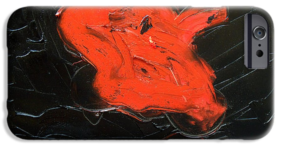 Surreal IPhone 6 Case featuring the painting The Last Hope by Sergey Bezhinets