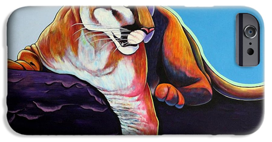 Wildlife IPhone 6 Case featuring the painting The Toll Collector by Joe Triano
