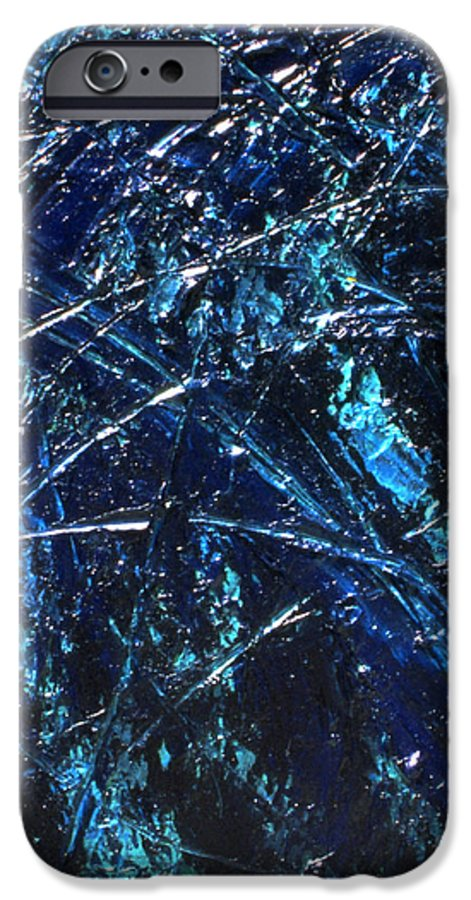 Abstract IPhone 6 Case featuring the painting Transitions I by Dean Triolo