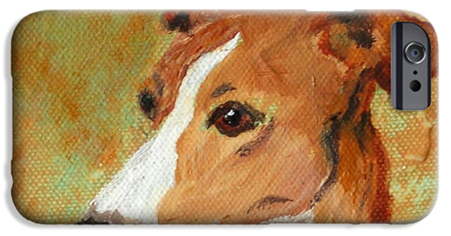 Acrylic IPhone 6 Case featuring the painting Treasured Moments by Cori Solomon