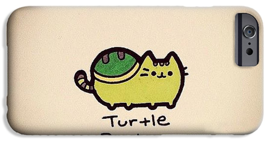 on sale 86ad7 5648e Turtle Pusheen IPhone 6 Case