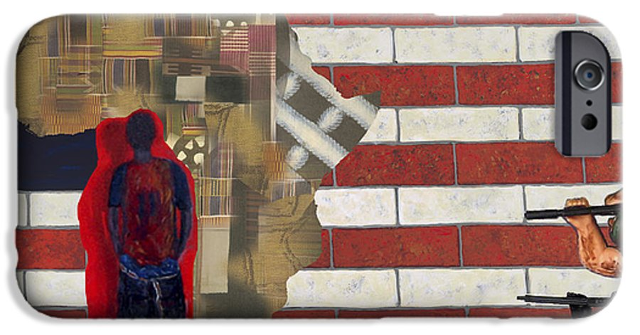 African American IPhone 6 Case featuring the digital art In-sights by F Geoffrey Johnson