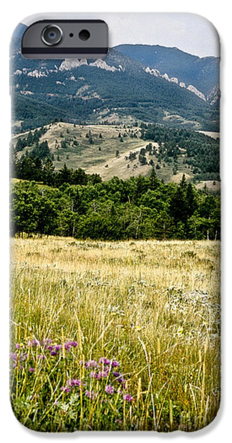 Wilderness IPhone 6 Case featuring the photograph Washake Wilderness by Kathy McClure