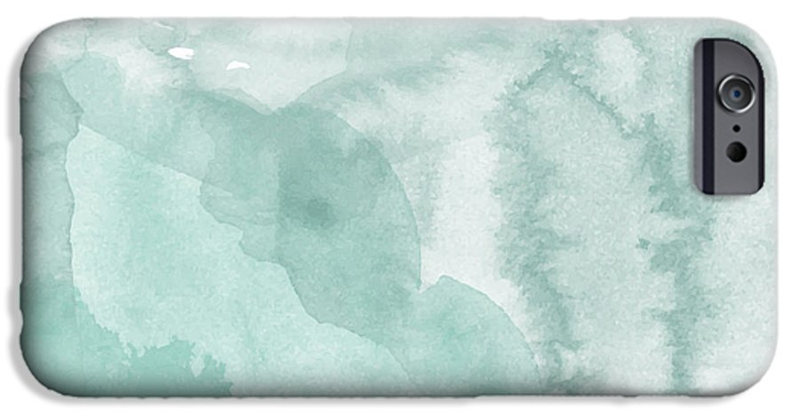 Color IPhone 6 Case featuring the digital art Watercolor Background. Digital Art by Evart