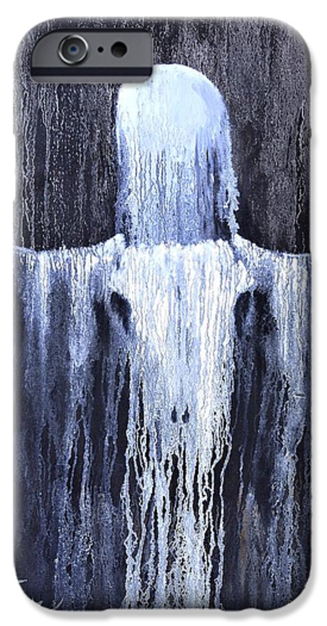 Inspirational IPhone 6 Case featuring the painting Wovoka's Dream by Patrick Trotter