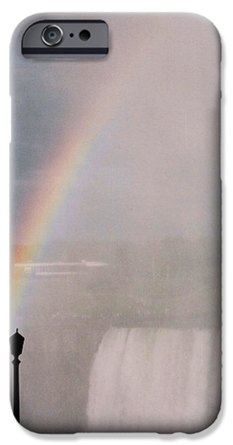 Waterfall IPhone 6 Case featuring the photograph Rainbow Falls by Pharris Art