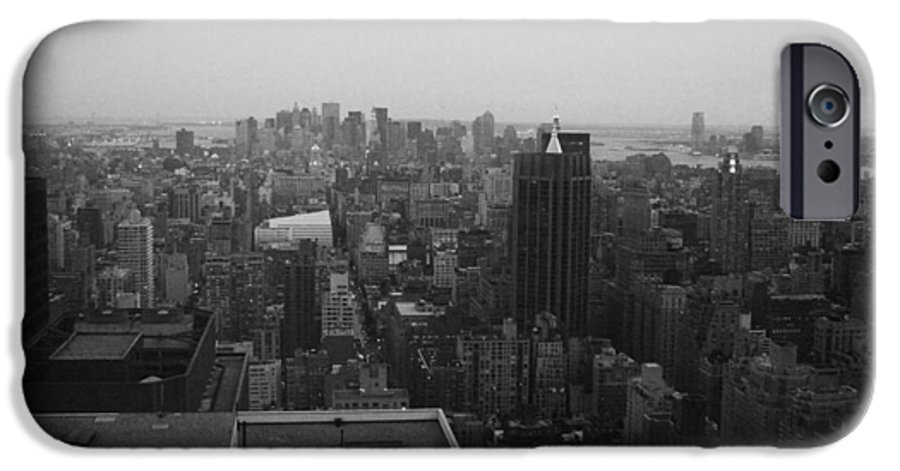 IPhone 6 Case featuring the photograph Nyc From The Top 5 by Naxart Studio
