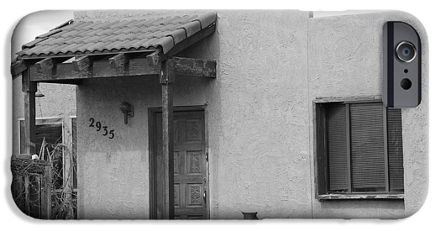 Architecture IPhone 6 Case featuring the photograph Adobe House by Rob Hans