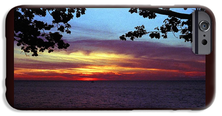 Sunset IPhone 6 Case featuring the photograph 070506-68 by Mike Davis