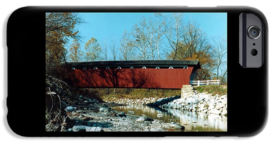 Bridge IPhone 6 Case featuring the photograph 072106-31 by Mike Davis