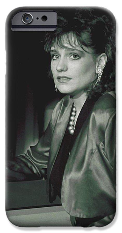 Portrait IPhone 6 Case featuring the photograph 092508-3  Cheri by Mike Davis