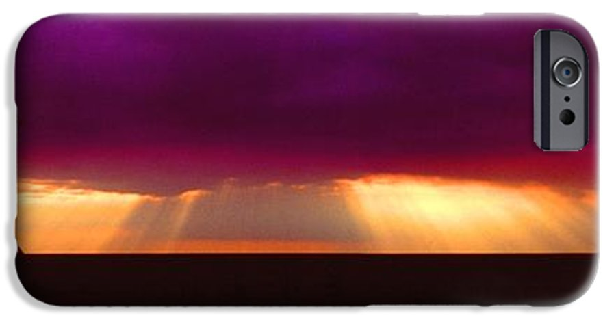 Sunset IPhone 6 Case featuring the photograph 092908-4 by Mike Davis
