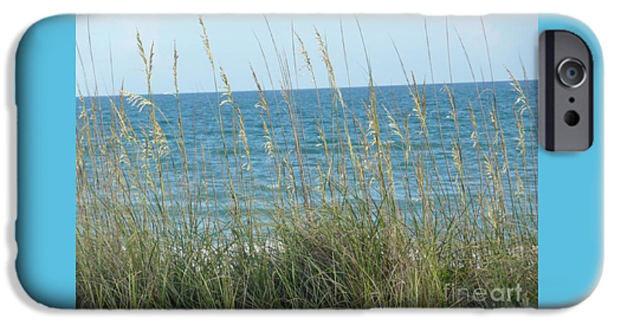 Beach IPhone 6 Case featuring the photograph Afternoon At The Beach by Barb Montanye Meseroll