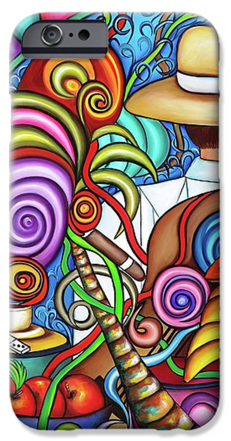 Cuba IPhone 6 Case featuring the painting Always by Annie Maxwell