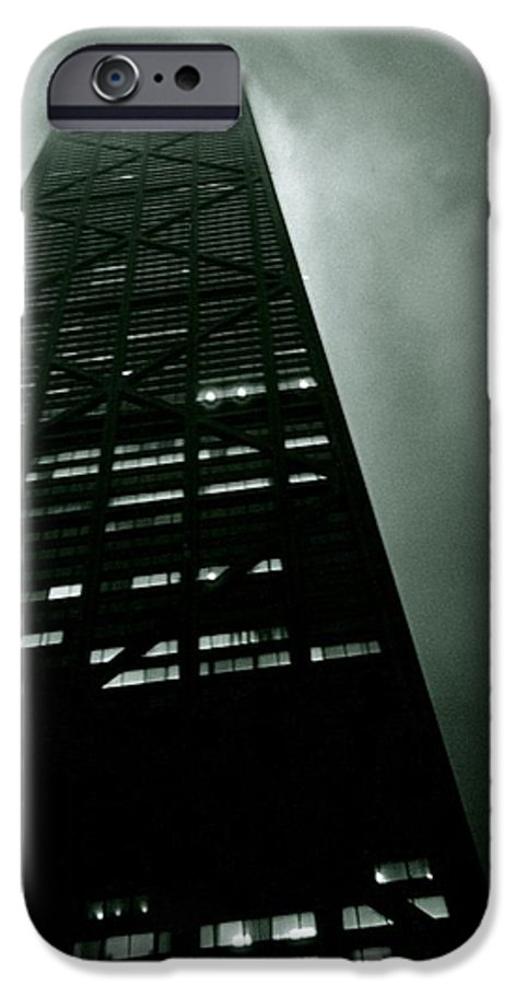 Geometric IPhone 6 Case featuring the photograph John Hancock Building - Chicago Illinois by Michelle Calkins