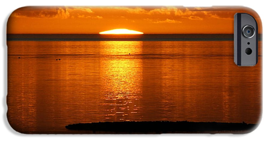 Sunset IPhone 6 Case featuring the photograph Looking For The Green Flash by Debbie May