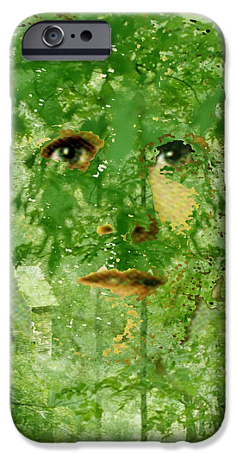 Lady IPhone 6 Case featuring the digital art Mother Nature by Seth Weaver