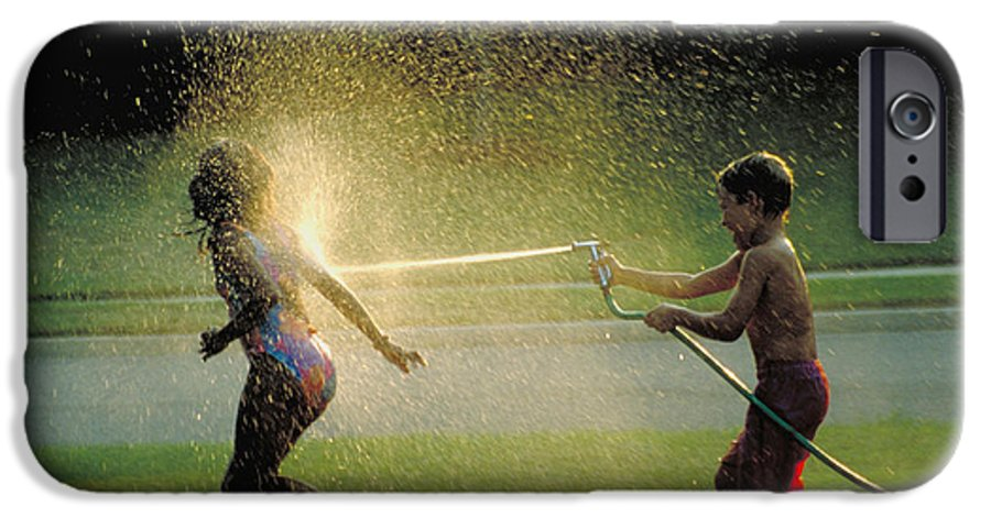 Hose IPhone 6 Case featuring the photograph Summer Fun by Carl Purcell
